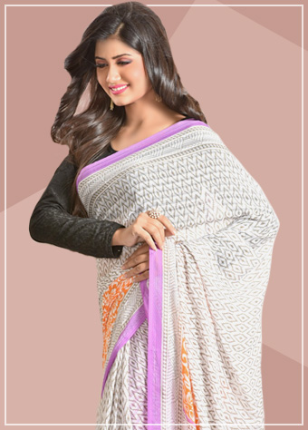 Chiffon and Net Sarees