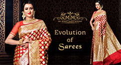 How saree changes over the time