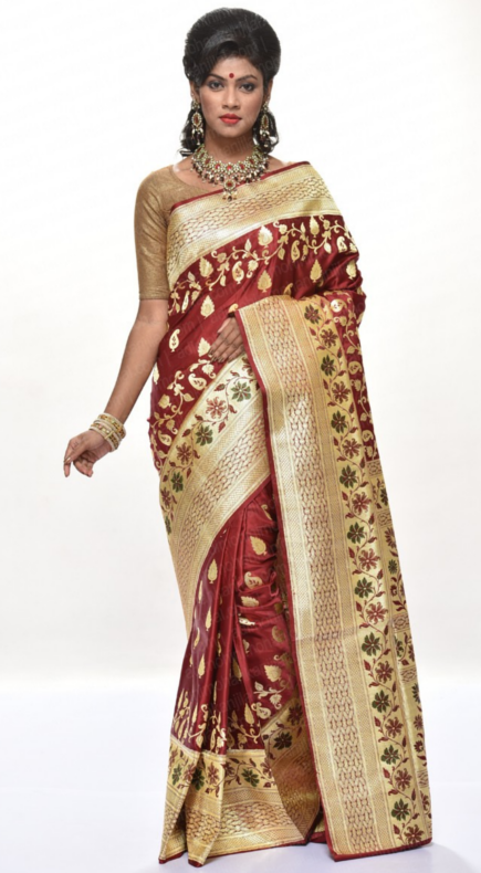 4977a530c2 The Latest Sarees for Young Ladies